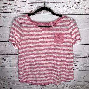 Lane Bryant 14/16 linen blend shirt